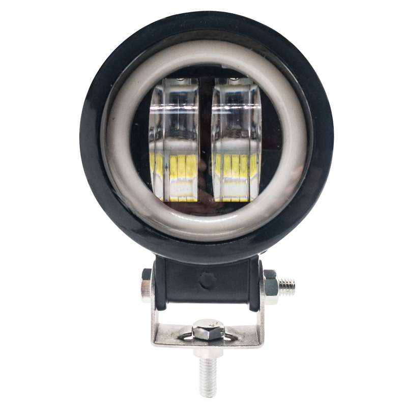 New products Round Bicolor 10W Led work light