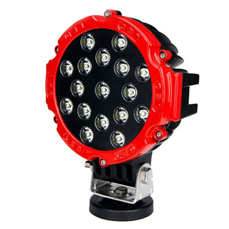 WaterProof Auto Led Work Lamp 51W Automotive Off road Driving Light Round