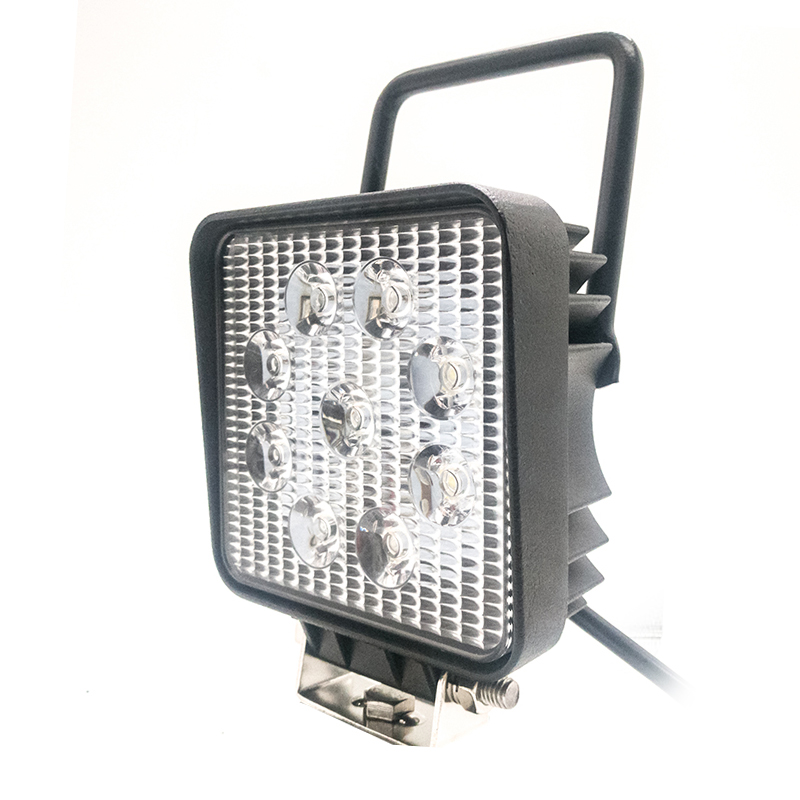 Portable back with swich led work light