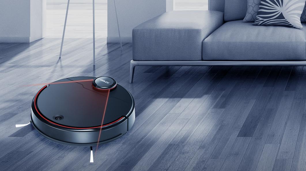 Laser + Visual Navigation Robot Vacuum Cleaner LV1