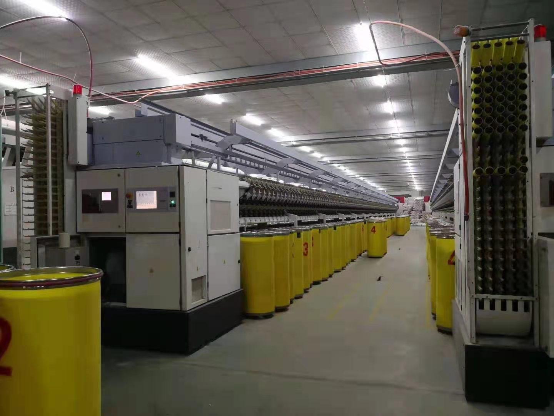 惠州海富纺织厂意大利变频器检测维修-泰升机电作业现场