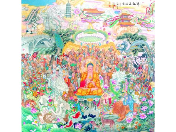 12诸佛菩萨像