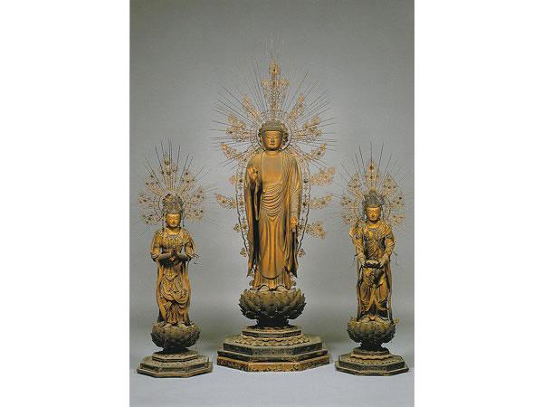 58西方三圣像