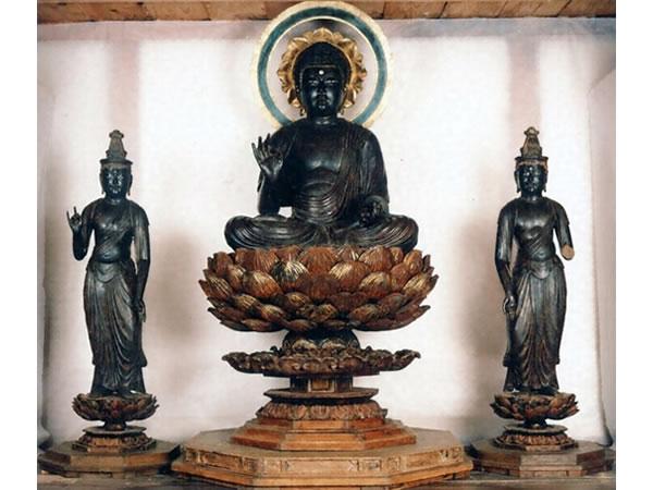 48西方三圣像