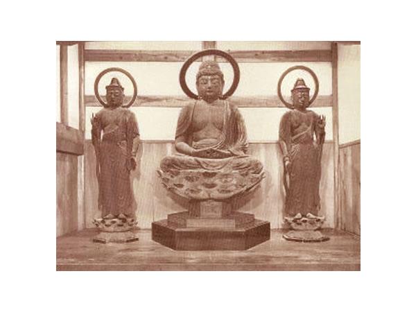23西方三圣像