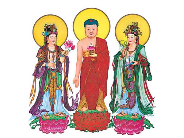 6西方三圣像